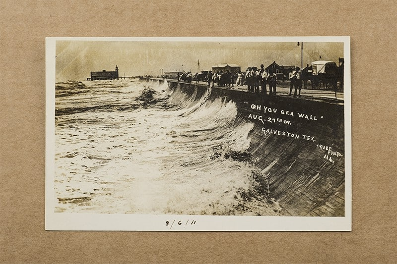 """""""Oh You Sea Wall"""" Postcard (front of card)"""