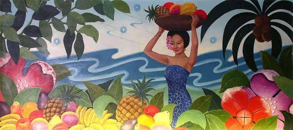 Balinese Room mural (photo courtesy Jacquelyn Tarpy