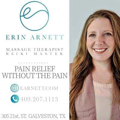 Erin Arnett Massage Therapy advertisement
