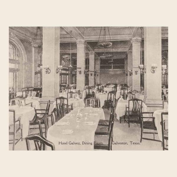 Hotel Galvez Dining Room (calendar image)