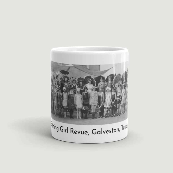 Bathing Girl Revue Mug (front view)