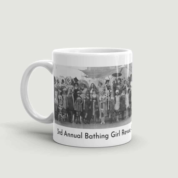 Bathing Girl Revue Mug (handle on left)