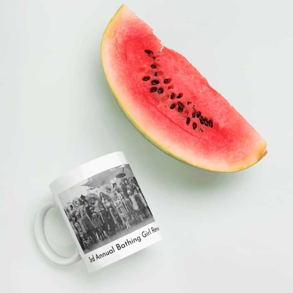 Bathing Girl Revue Mug (with watermelon)