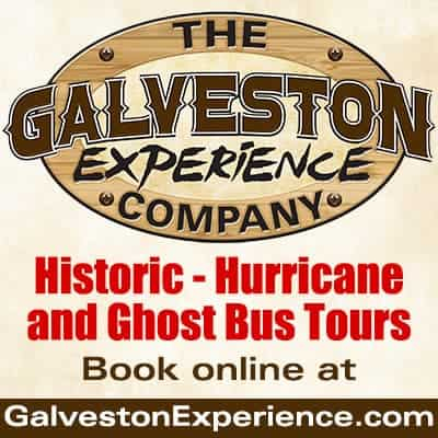 The Galveston Experience Company advertisement