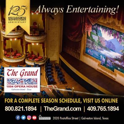 The Grand 1894 Opera House advertisement
