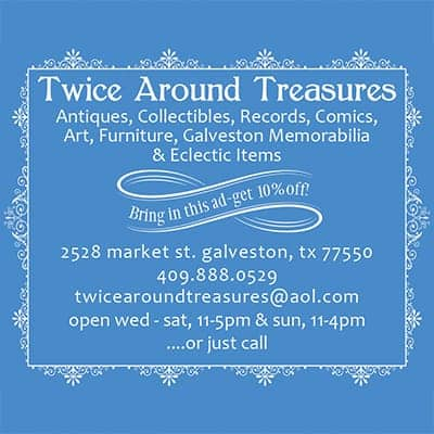 Twice Around Treasures advertisement